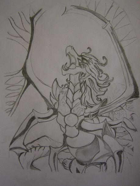 Galerie de dessin de yusei-29 Dragon11