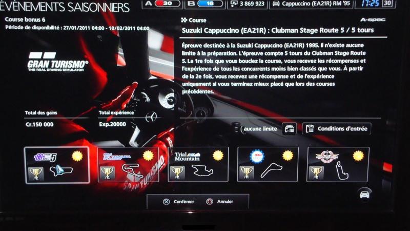 Courses Bonus N°6: du 27/01/11 - 04h00 au 10/02/11 - 04h00 Dsc01011
