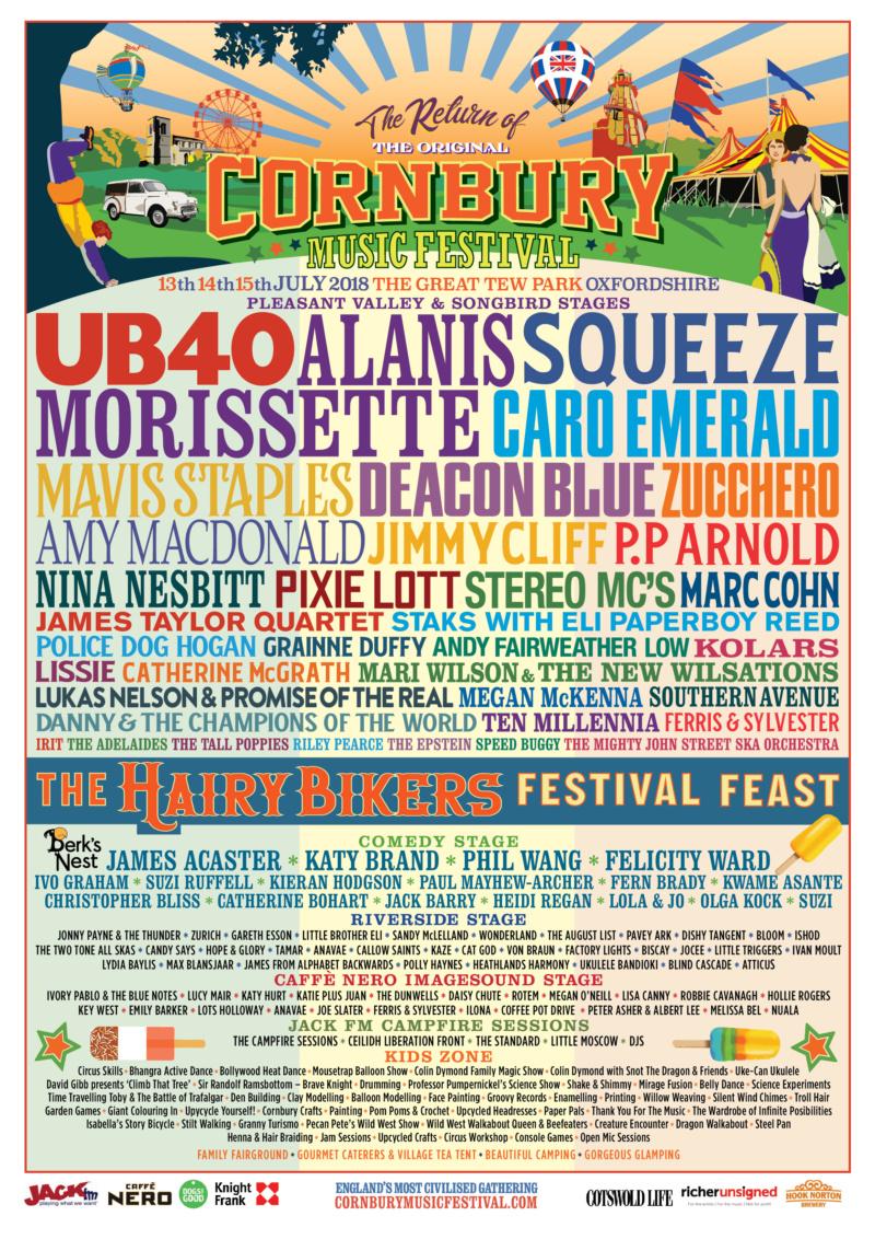 2019 Cornbury Festival - 5th, 6th, 7th July Oxfordshire 2018_l10