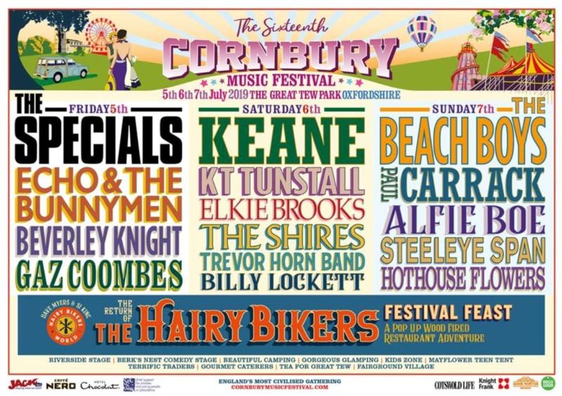 2019 Cornbury Festival - 5th, 6th, 7th July Oxfordshire 2019_l10