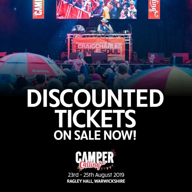 2019 Camper Calling - 23rd to 25th Aug - Warwickshire Discou10