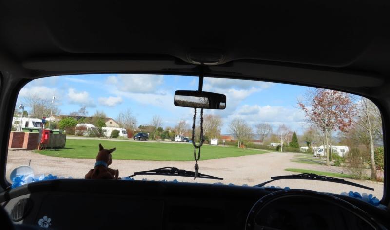 Glastonbury in March! Scooby45