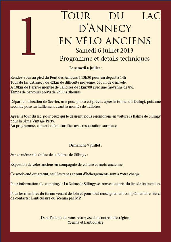 Tour du lac d'Annecy (2013) en préparation - Page 5 Detail13