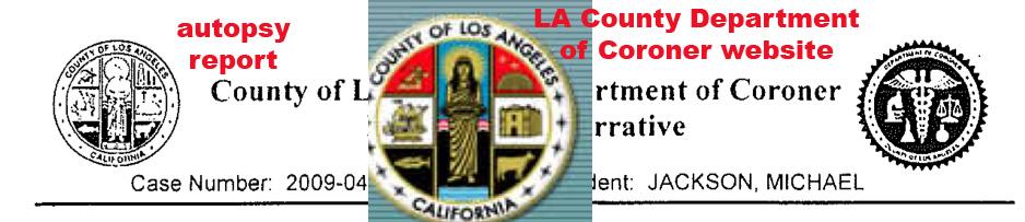 16 Recapitulación - La investigación oficial y la autopsia Corone10