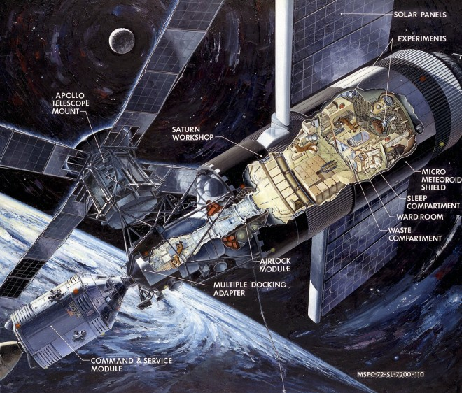Skylab (1973-1974) - Page 2 Skylab11
