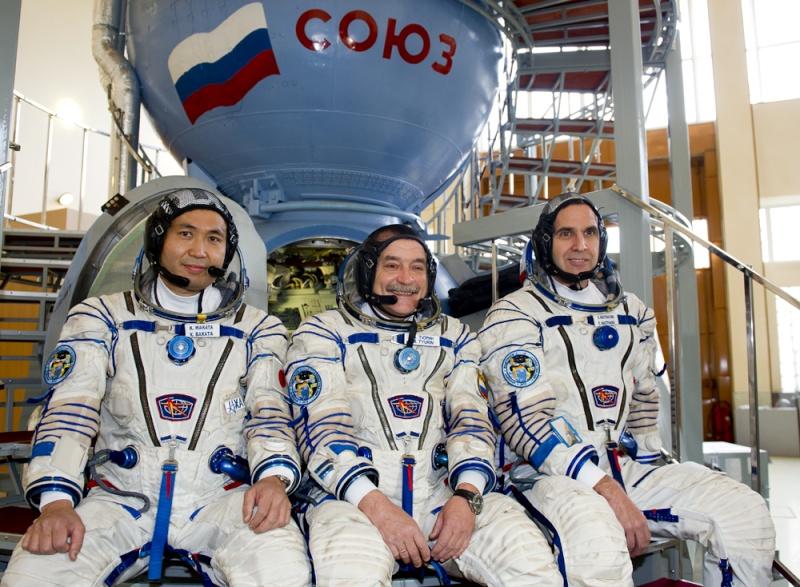 Lancement, mission & retour sur terre Soyouz TMA-09M  Soyuz_13