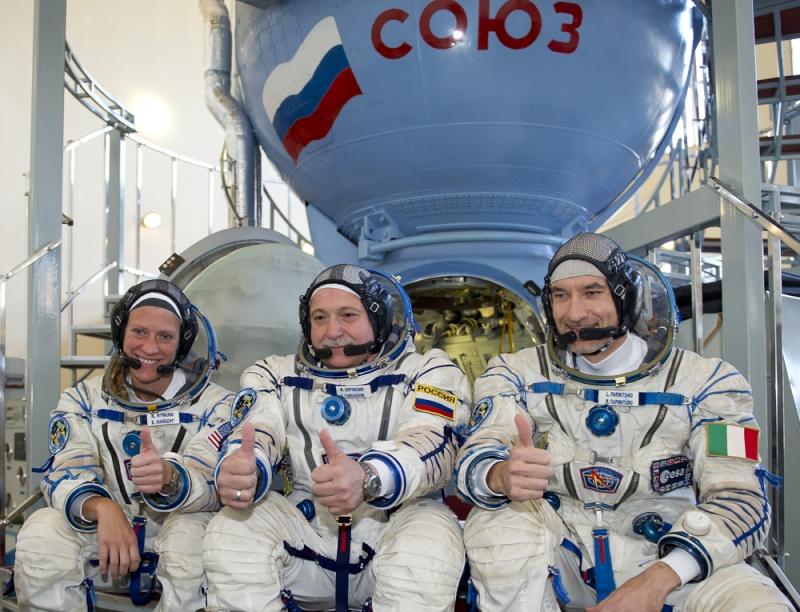 Lancement, mission & retour sur terre Soyouz TMA-09M  Soyuz_14