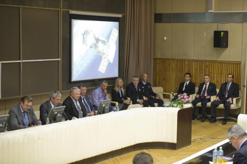 Lancement, mission & retour sur terre Soyouz TMA-09M  Soyuz_19