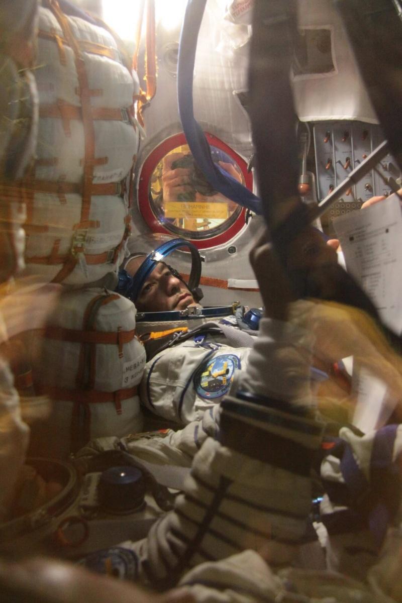 Lancement, mission & retour sur terre Soyouz TMA-09M  Soyuz_20