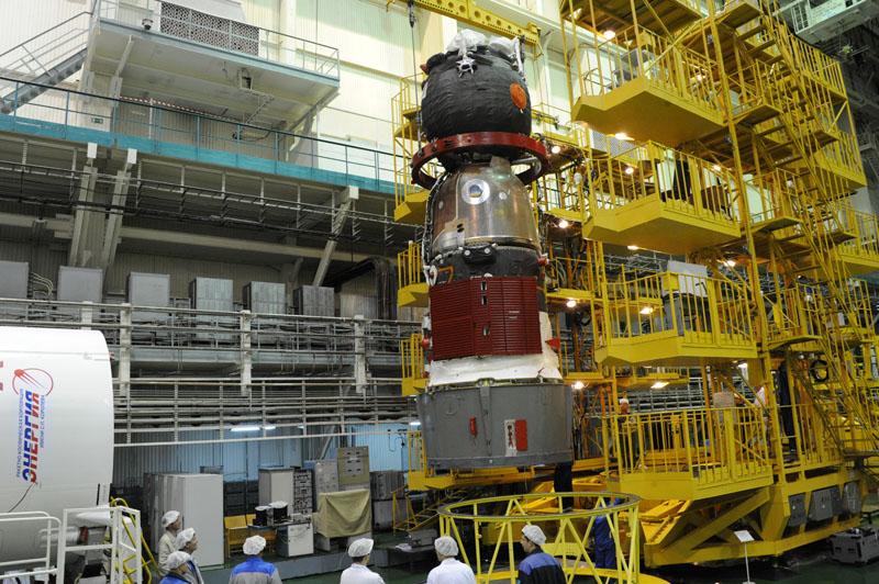 Lancement, mission & retour sur terre Soyouz TMA-09M  Soyuz_31
