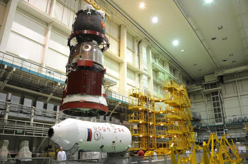 Lancement, mission & retour sur terre Soyouz TMA-09M  Soyuz_32