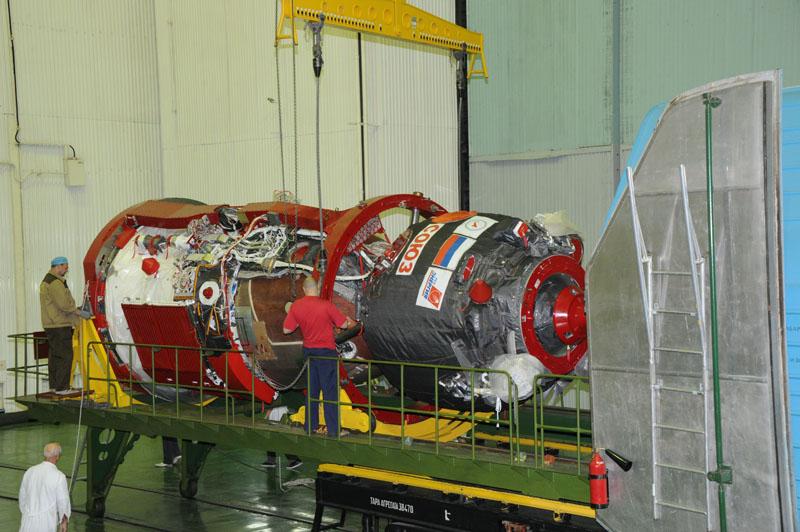 Lancement, mission & retour sur terre Soyouz TMA-09M  Soyuz_33