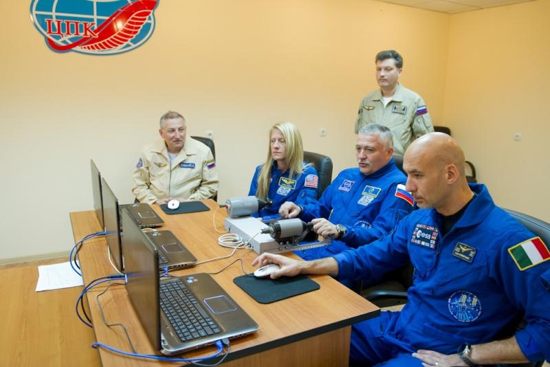 Lancement, mission & retour sur terre Soyouz TMA-09M  Soyuz_45