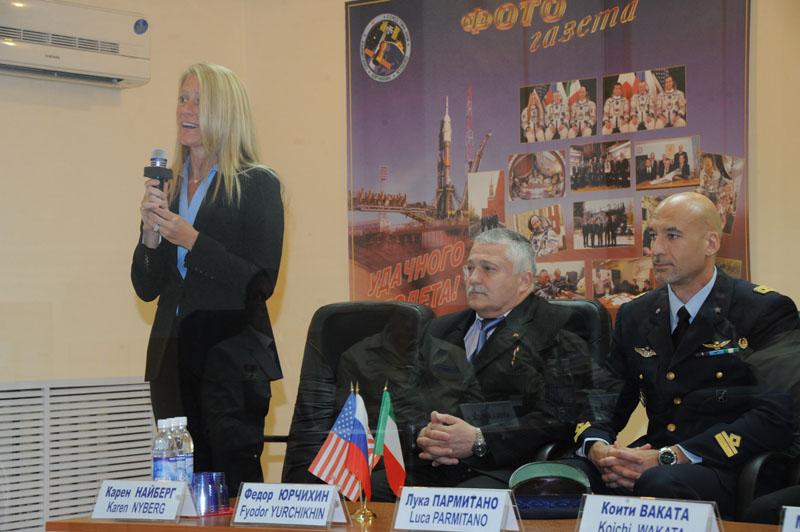 Lancement, mission & retour sur terre Soyouz TMA-09M  Soyuz_47