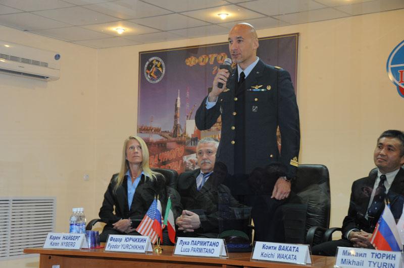 Lancement, mission & retour sur terre Soyouz TMA-09M  Soyuz_48