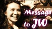 給JW的留言