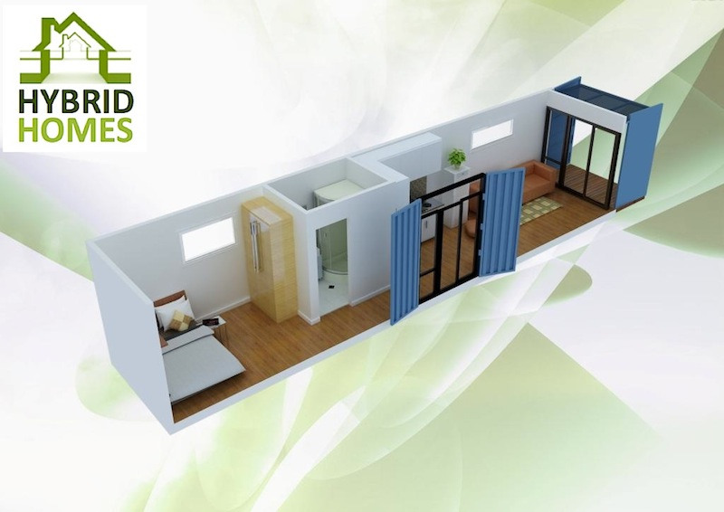 Buy a complete 1 bedroom Hybrid House for Rs 1.8mn Hhl610