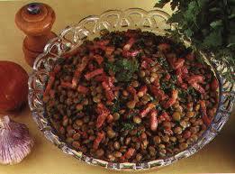 Salade de lentilles froide aux lardons Lentil11