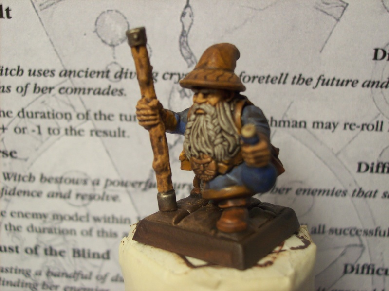 dwarf - Dwarf Alchemist? Witch Hired Sword Added Steam Golem 6/28 101_2517