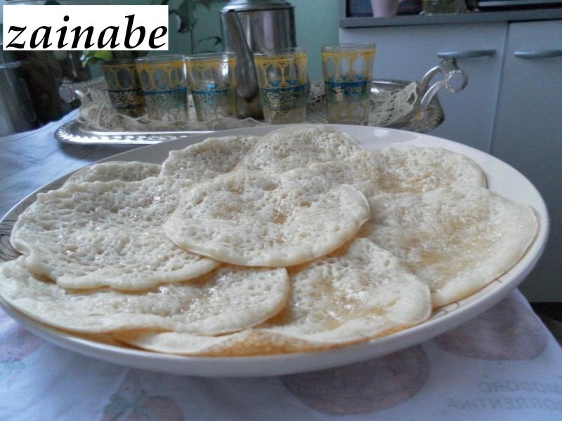 Baghrir ou Beghrir ou B'ghrir marocain/Pancakes marocains/Crêpes marocaines aux mille trous Bghrir11