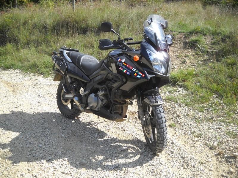 Comparatif 4 trails sur le grill/moto magazine /mars 2011 Vstrom10