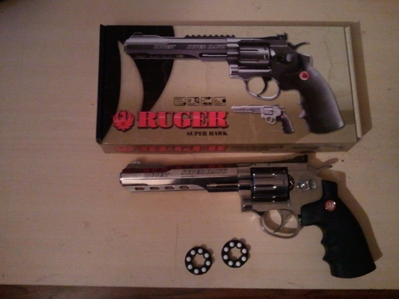 RUGER RED HAWK CHROME 6'' Photo011