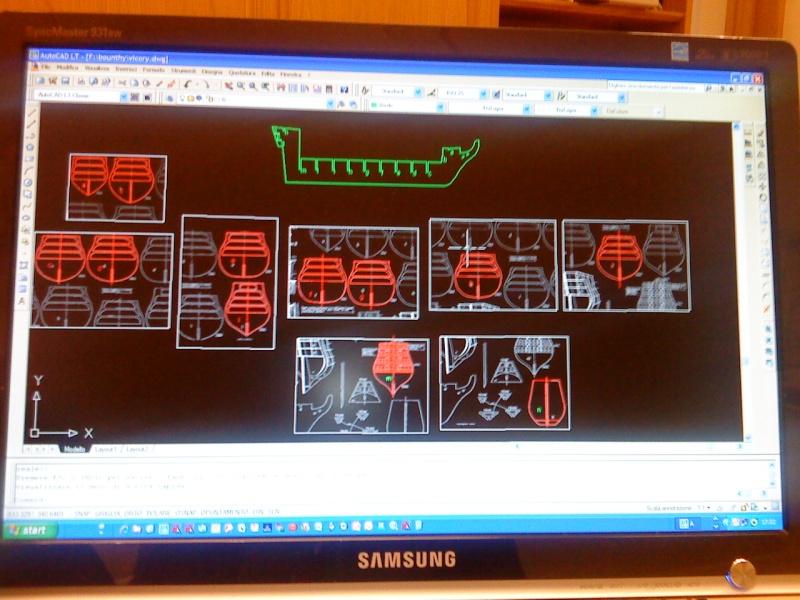piani  https - modellistinavali forumattivo com - H.M.S. Victory da piani costruzione della AMATI Dsc01312