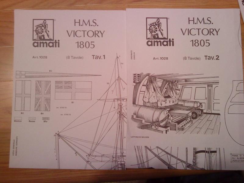 piani  https - modellistinavali forumattivo com - H.M.S. Victory da piani costruzione della AMATI Dsc01317