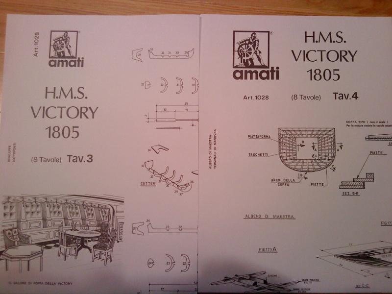 piani  https - modellistinavali forumattivo com - H.M.S. Victory da piani costruzione della AMATI Dsc01318
