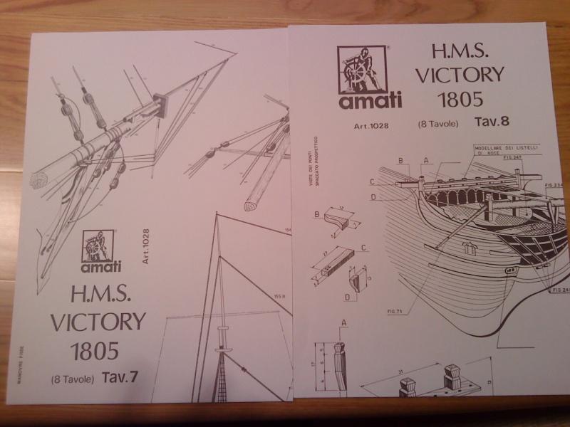 piani  https - modellistinavali forumattivo com - H.M.S. Victory da piani costruzione della AMATI Dsc01320