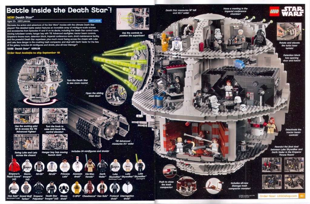 LEGO STAR WARS - 10188 - Death Star II UCS 10188d12
