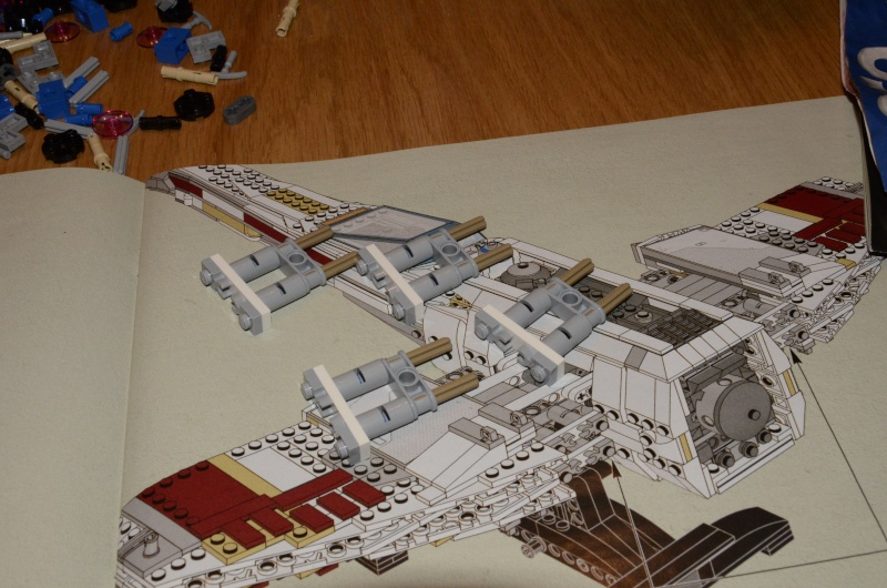 LEGO STAR WARS - 10240 - Red Five X-Wing Starfighter UCS _dsc8858