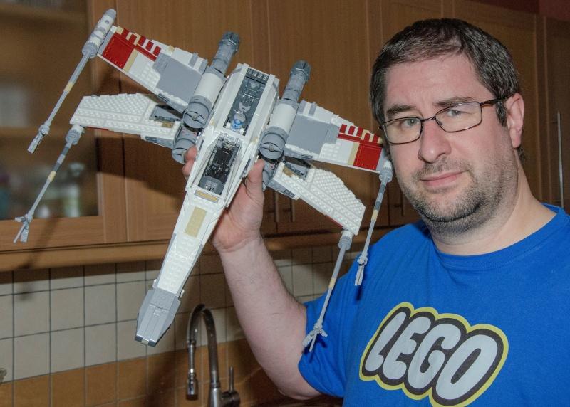 LEGO STAR WARS - 10240 - Red Five X-Wing Starfighter UCS _dsc8910