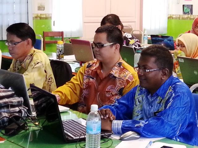 Majlis Guru Cemerlang Zon Pedalaman : Bengkel Membina Laman Web (27jun2013) Z17