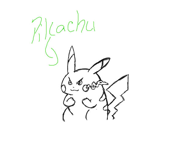 Leaf's artwork :D - Page 2 Pikach10