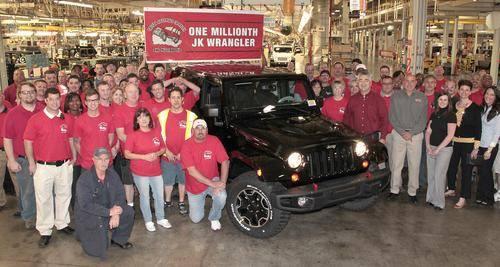 Jeep France  (millionième Jeep Wrangler JK) 93409710