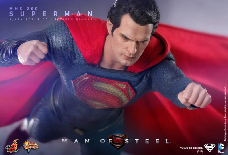 MMS200 : Man of steel - Superman 10139410