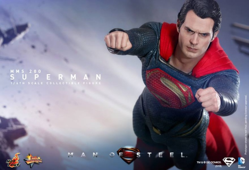 MMS200 : Man of steel - Superman 94290010