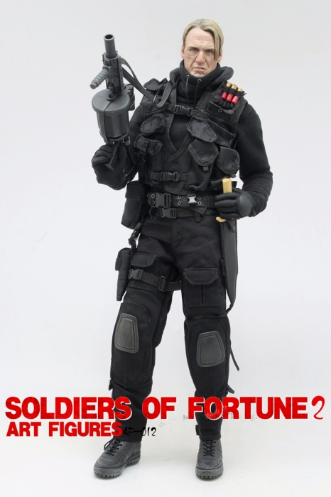 Soldiers of fortune 2/ 1/6 scale Gunnar Jensen- Art Figures Art_fi18
