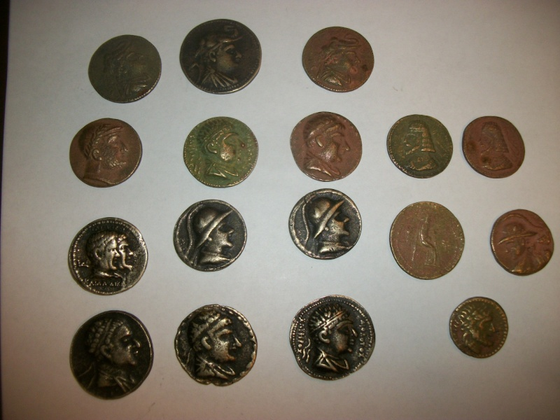 Some coins that were bring-backs from Afghanistan. 100_6710