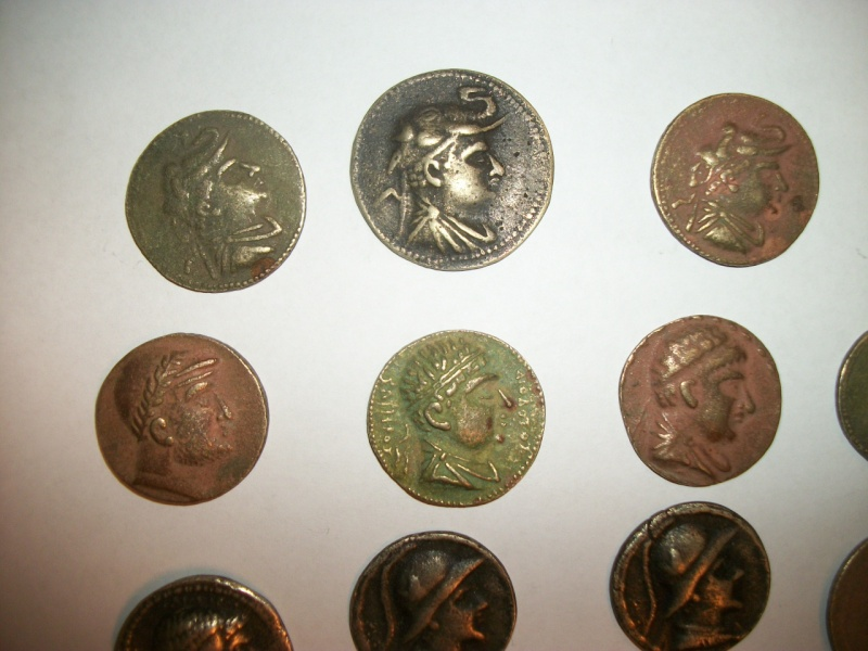 Some coins that were bring-backs from Afghanistan. 100_6713
