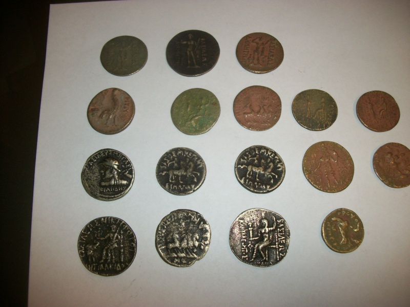 Some coins that were bring-backs from Afghanistan. 100_6714