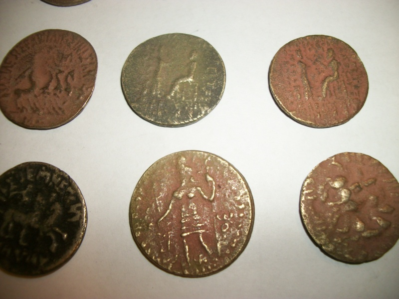 Some coins that were bring-backs from Afghanistan. 100_6716
