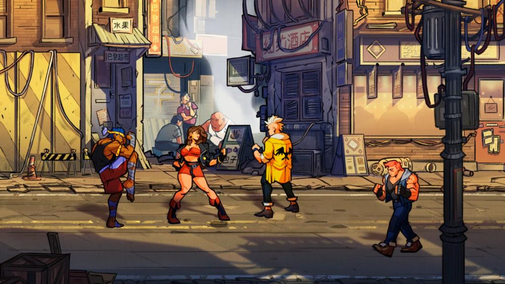 Streets of Rage 4 annoncée par lizardcube Street10