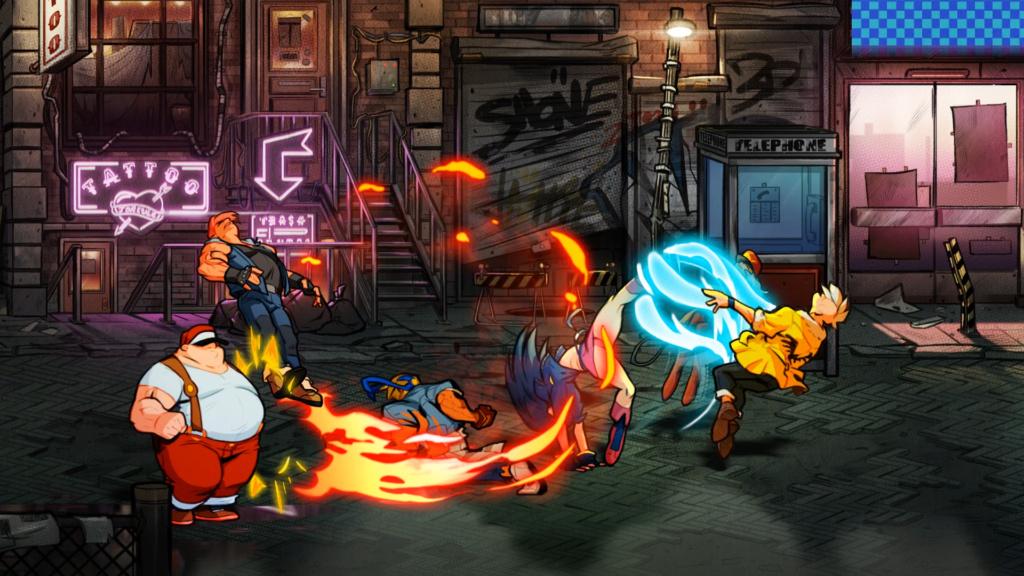 Streets of Rage 4 annoncée par lizardcube Street11