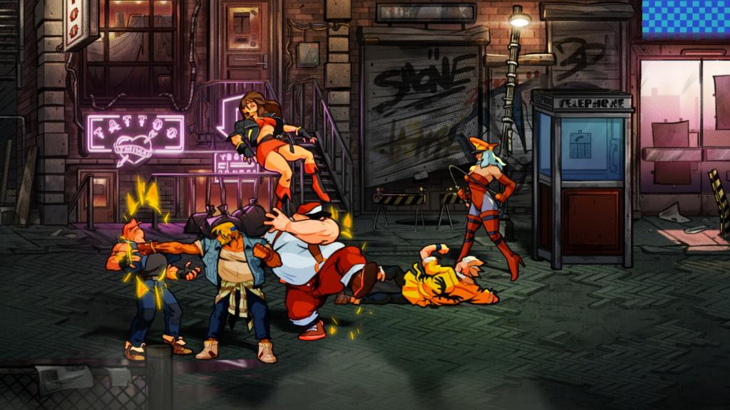 Streets of Rage 4 annoncée par lizardcube Street12