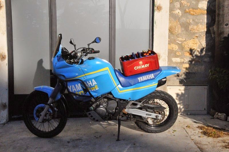 Transformation de ma Super T 750 en replica Dakar 1993 St-113