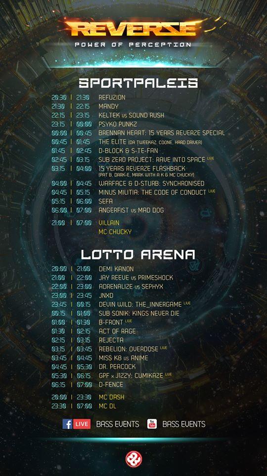 REVERZE - 7 Mars 2020 - Sportpaleis/Lotto Arena - Anvers - BE 88009010