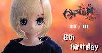 [AZ Aoto GW] Opium 15y - 22/10 - 8th birthday 8thbdm10