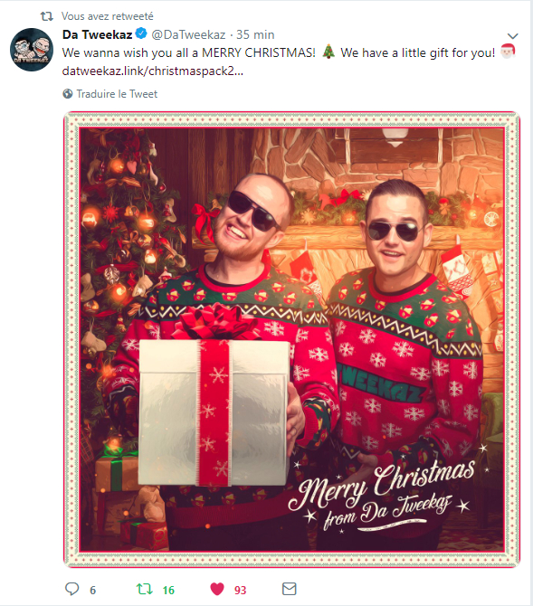 Da Tweekaz - Christmas pack 2018 Screen12